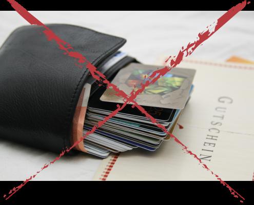 Mit Voucheria quillt die Geldbörse nicht mehr über und alle Gutscheine sind immer dabei.